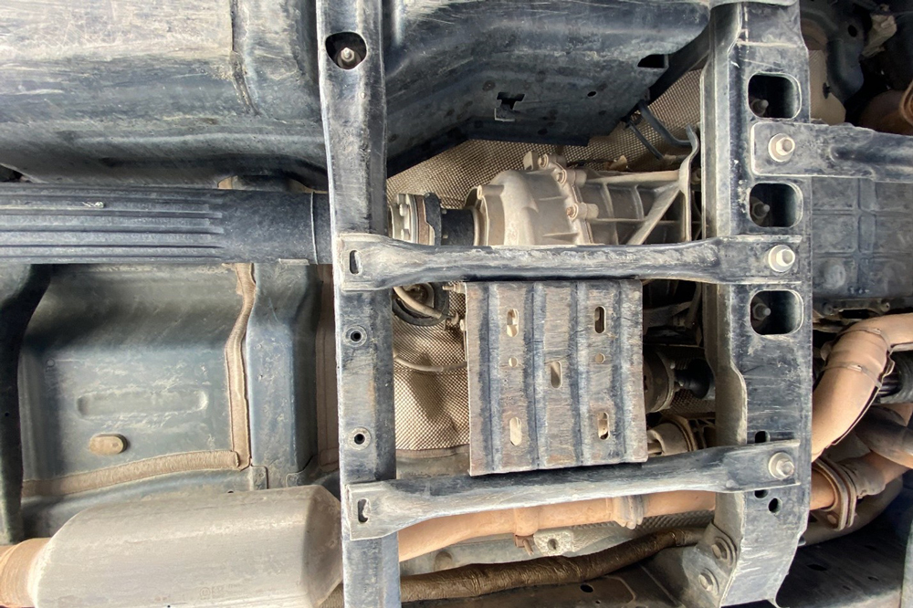 Jeep JL Transfer Case Skid Plate Install