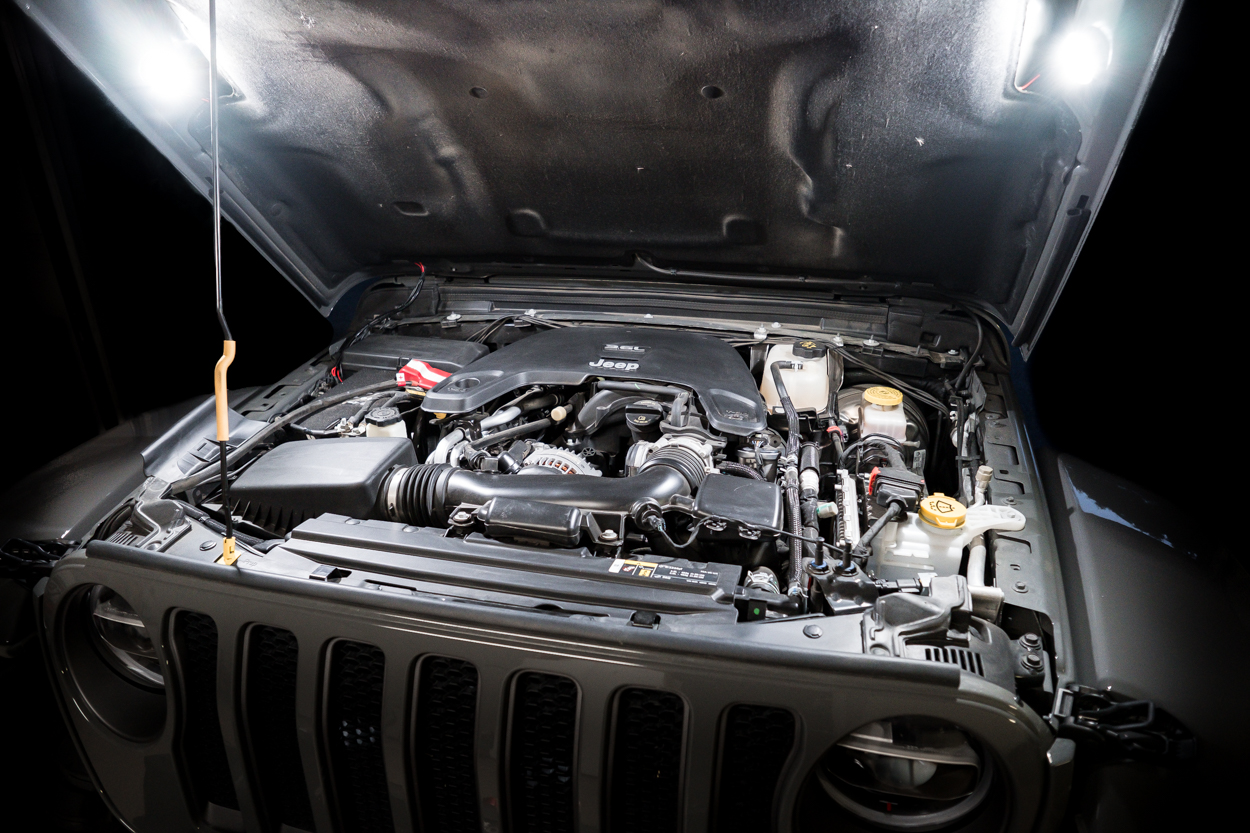 KC Hilites Cyclone Under Hood Lighting System Install and Review