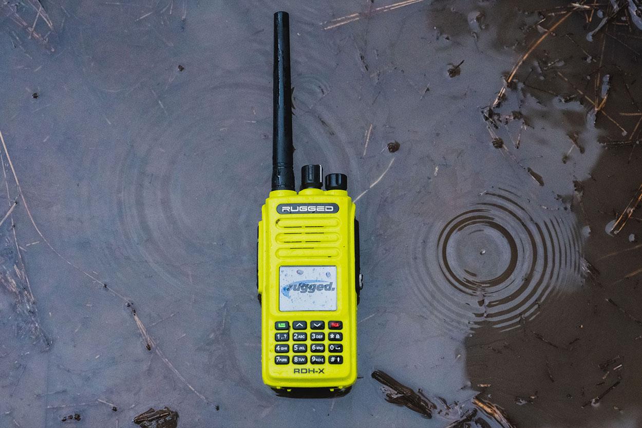 Rugged GMRS Radio